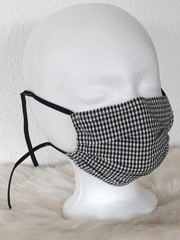 Gesichtsmaske Classic mit Nasenbügel , waschbar für Damen & Herren