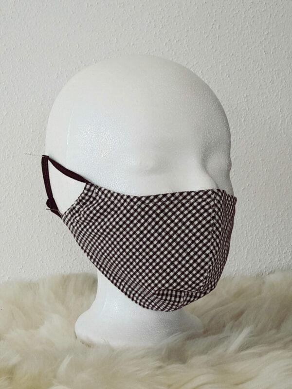 Atmungsaktive Mund- und Nasenmaske mit Nasenbügel für Erwachsene und Kinder, Gesichtsmaske, Mundbedeckung, Behelfsmaske