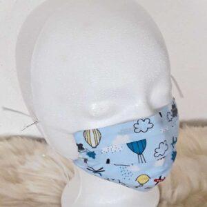 """Kindermaske """"Boys Flugzeuge"""""""