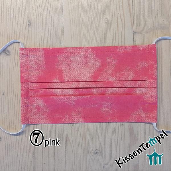 Maske Gesichtsmaske 7-pink