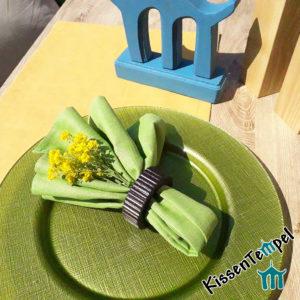 Leinen-Servietten Sets >Lotte< handgenäht in verschiedenen Farben, 100% Leinen, für den geschmackvoll gedeckten DinnerTisch