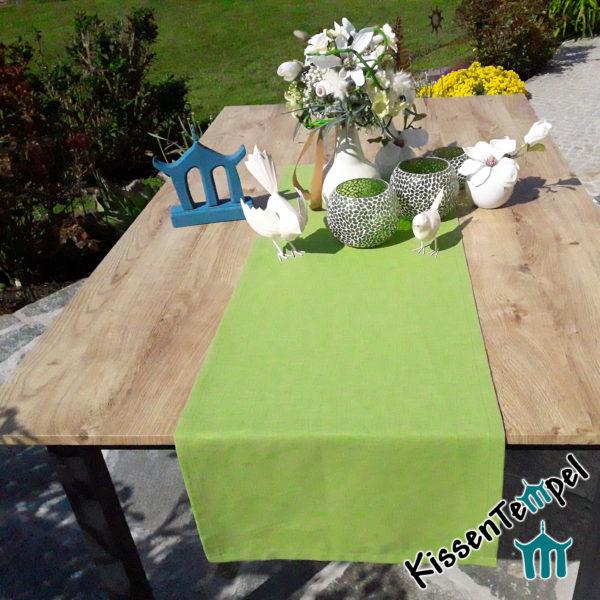 Leinen-Tischläufer / Tischdecke >Lotte< Hochzeitsdeko