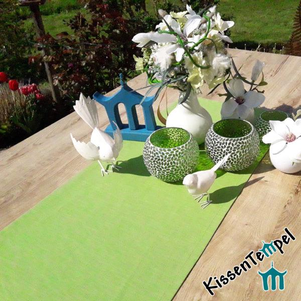 Leinen-Tischläufer / Tischdecke >Lotte< Hochzeitsdekoration