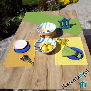 Leinen-Tischset >Lotte< verschiedene Farben, 100% Leinen, zeitlos, schlichte Eleganz